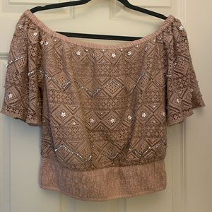 Crochet Off or On the shoulder top